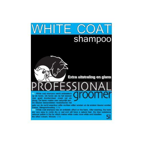 shampoo,White Coat, Professional Groomer 5L