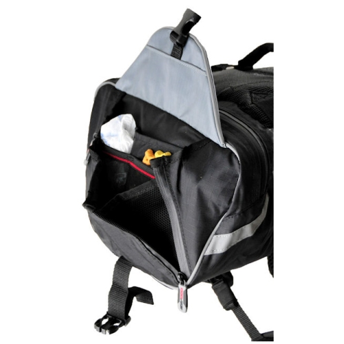 EzyDog, Summit Backpack, Zwart, S