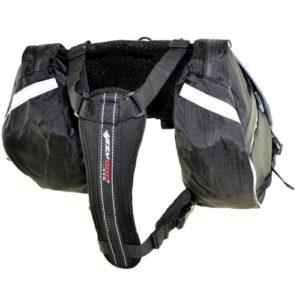 EzyDog, Summit Backpack, Zwart, S