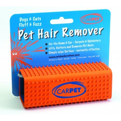Pet hair remover, carpet