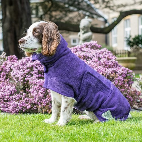 Ruff and Tumble droogjas voor honden - M/L