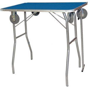 trimtafel, TA013, opvouwbaar, met wielen, Vivog