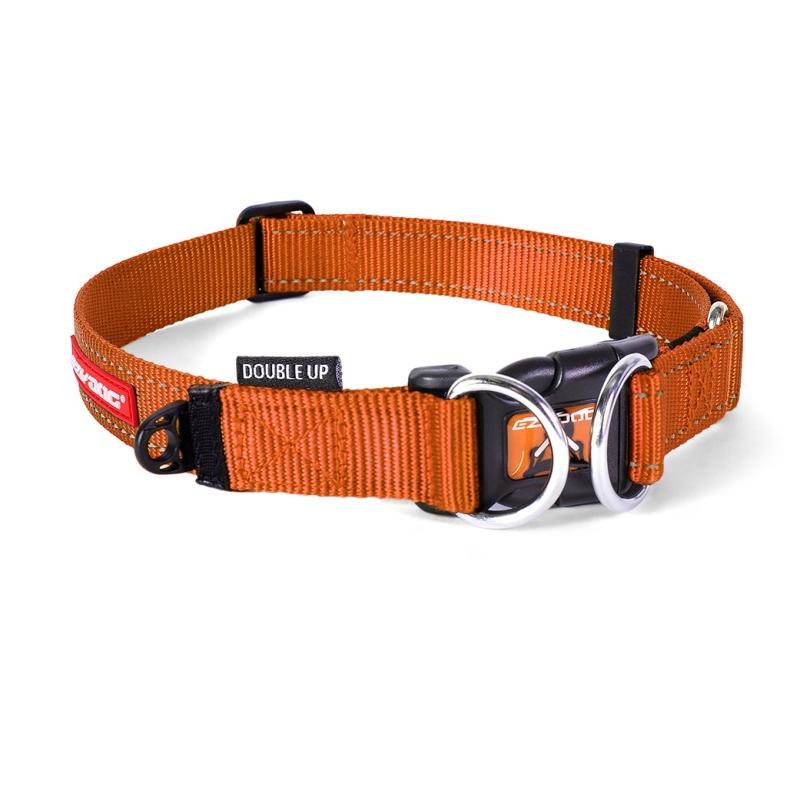 c6741 - EzyDog Double Up halsband, Oranje