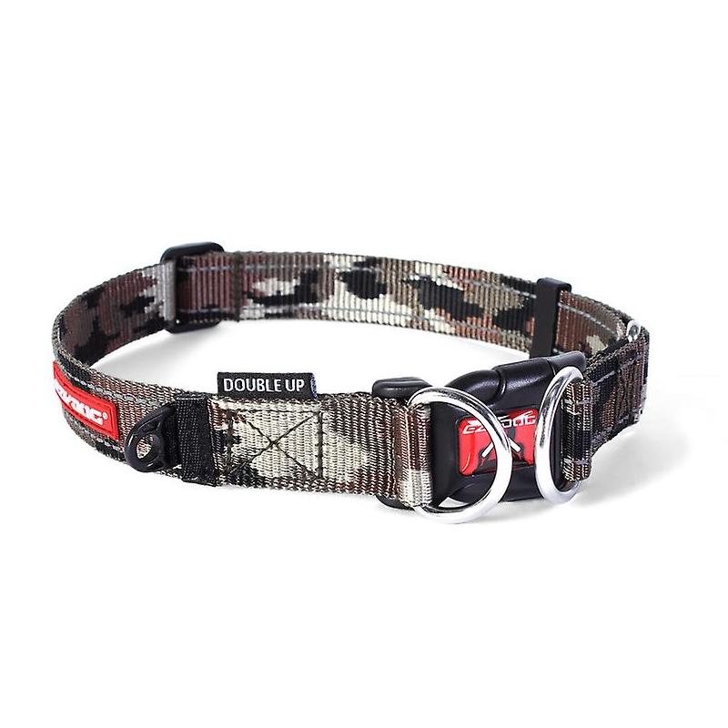 c6743 - EzyDog Double Up halsband, camo