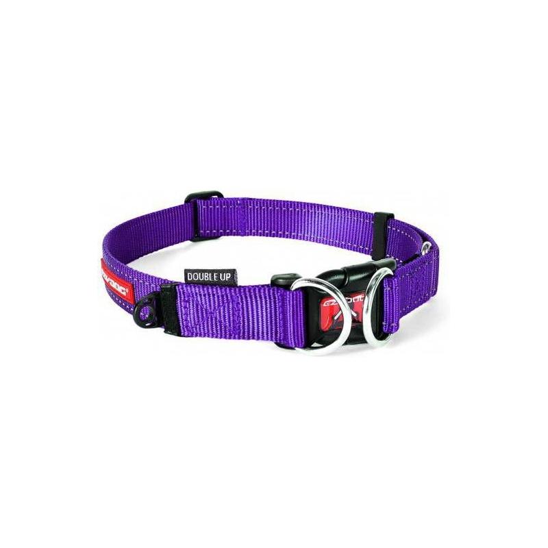 c6747 - EzyDog Double Up halsband, paars