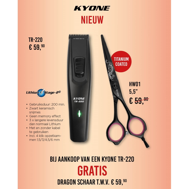 Promo - Kyone trimmer TR 220